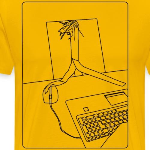 Lauch at Work - Männer Premium T-Shirt