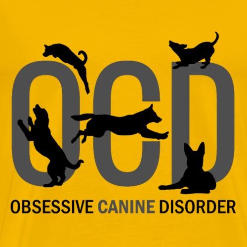 OCD - Obsessive Canine Disorder - Men's Premium T-Shirt