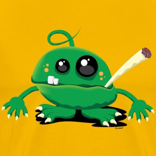Little Stoner Monster - T-shirt Premium Homme