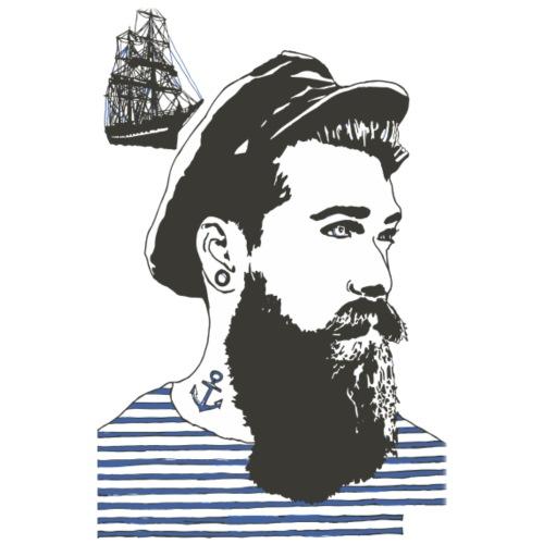 Sailor-farge - Premium T-skjorte for menn