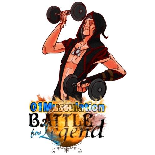 Adorateur - Battle for Legend X 01Musculation - T-shirt Premium Homme