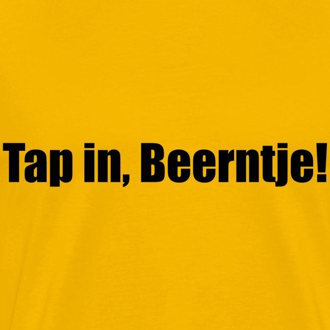 Tap in Beertje Schenk de borrel maar in