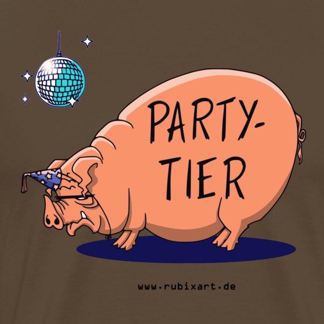 Partytier Schwein Fete Feier Party Sau
