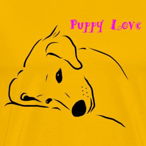 Puppy Love - Mannen Premium T-shirt