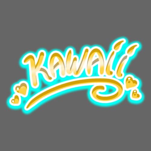 Kawaii Jaune et Bleu - T-shirt Premium Homme