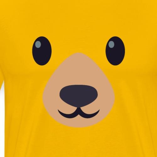 ours museau emoij - T-shirt Premium Homme