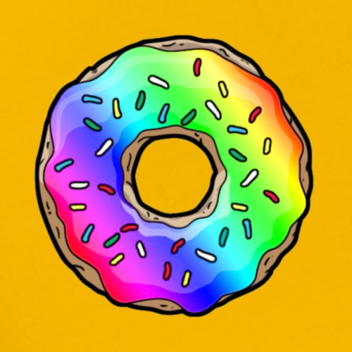 DONUTS TUTTI COLOR AND FRUTTI - T-shirt Premium Homme