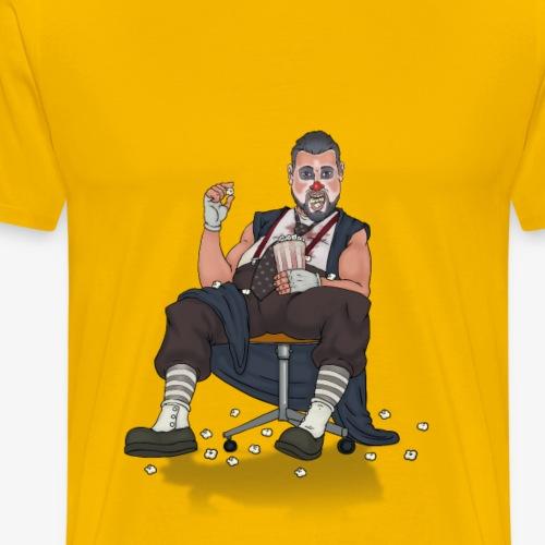 Damm this popcorn is good - Men's Premium T-Shirt