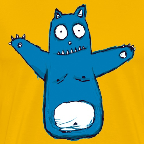 Blue Cat - Men's Premium T-Shirt