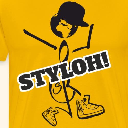STYLOH! - Camiseta premium hombre