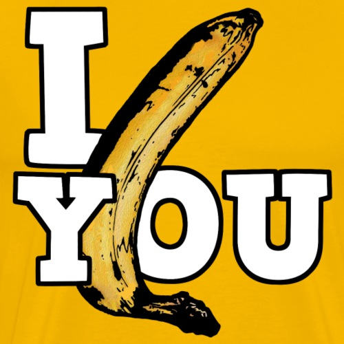 Banana You - T-shirt Premium Homme
