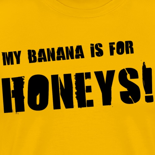 honeys black - Premium-T-shirt herr