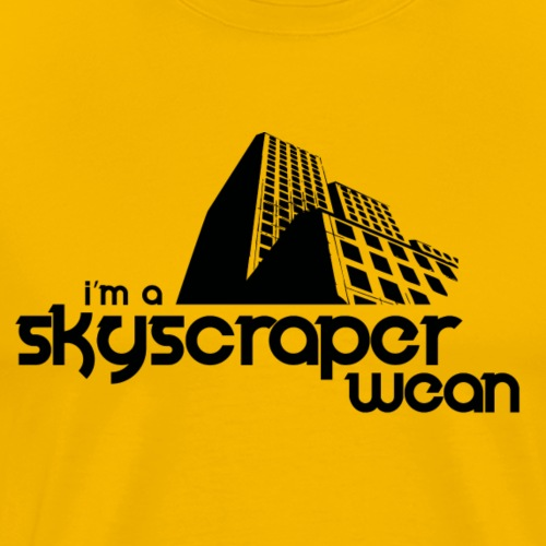 Skyscraper Wean - Men's Premium T-Shirt