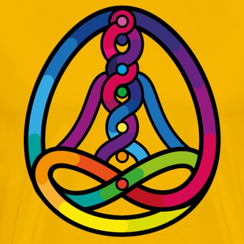 Yoga Permaculture - Maglietta Premium da uomo