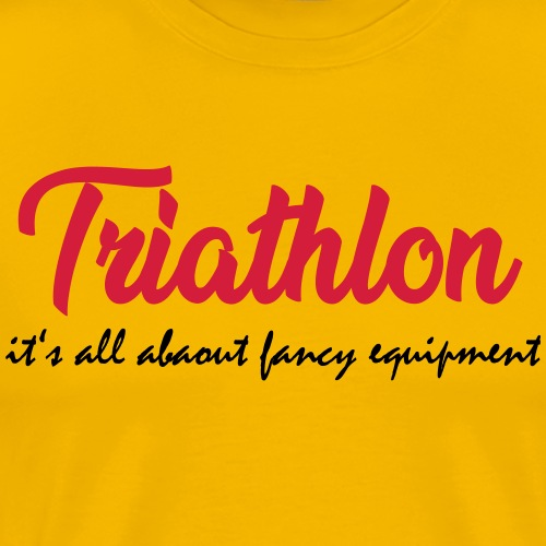 Triathlon its all about - Männer Premium T-Shirt