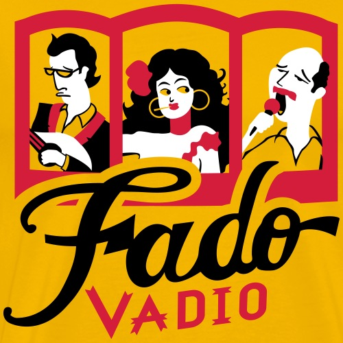 Fado Portugal - T-shirt Premium Homme