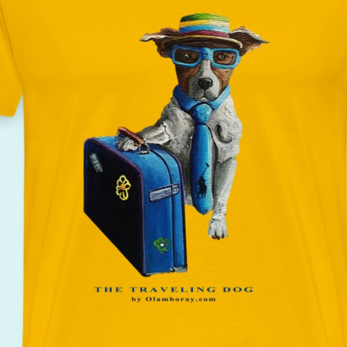The Traveling Dog - Men's Premium T-Shirt
