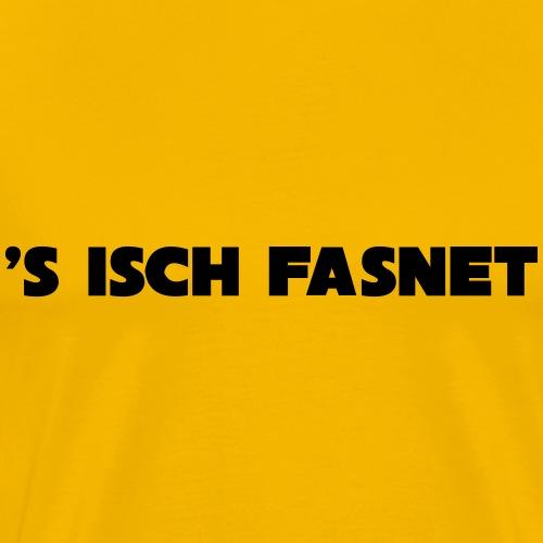 s isch FASNET - Männer Premium T-Shirt