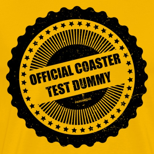 Official Coaster Test Dummy - T-shirt Premium Homme