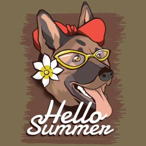 Hello Summer - Dog