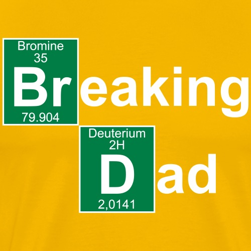Breaking Dad - Men's Premium T-Shirt