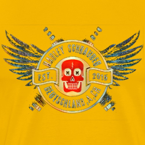 Schrauber D A CH Logo - Männer Premium T-Shirt