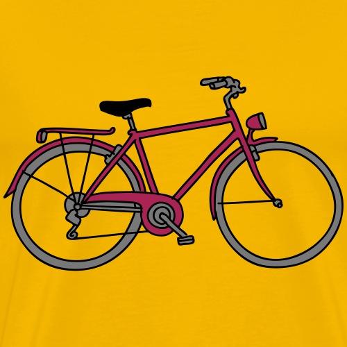 Bicicletta 3 - Maglietta Premium da uomo