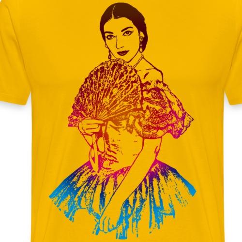 La traviata: Maria Callas als Violetta Valéry - Men's Premium T-Shirt