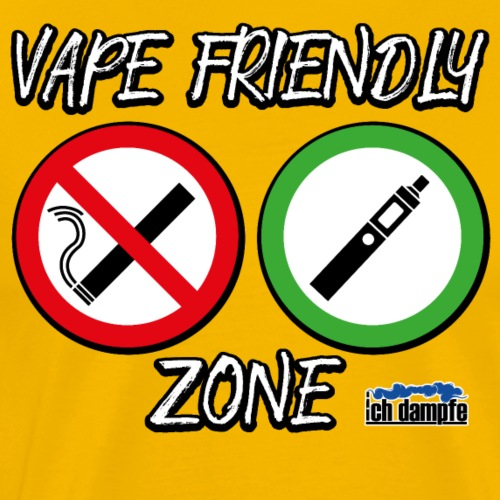 Vape Friendly Zone - Männer Premium T-Shirt