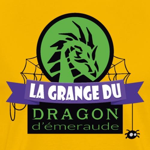 La grange du Dragon d'émeraude - T-shirt Premium Homme