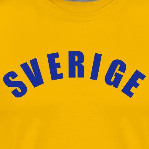 Sverige - Premium-T-shirt herr