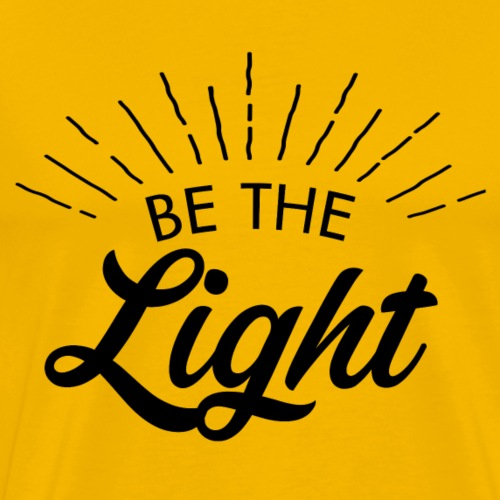 Be the light 6 N - Maglietta Premium da uomo