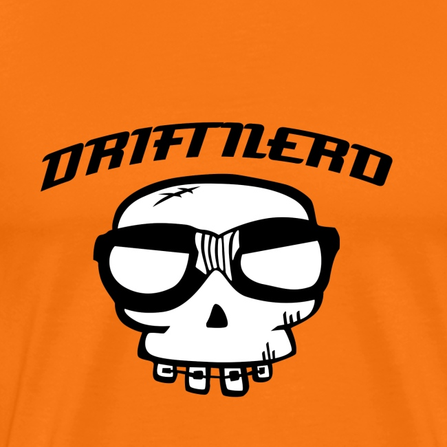 sticker driftnerd curved