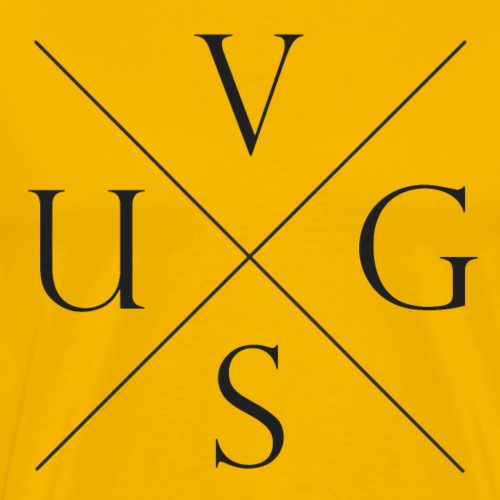 V.U.G.S. Cross - Mannen Premium T-shirt