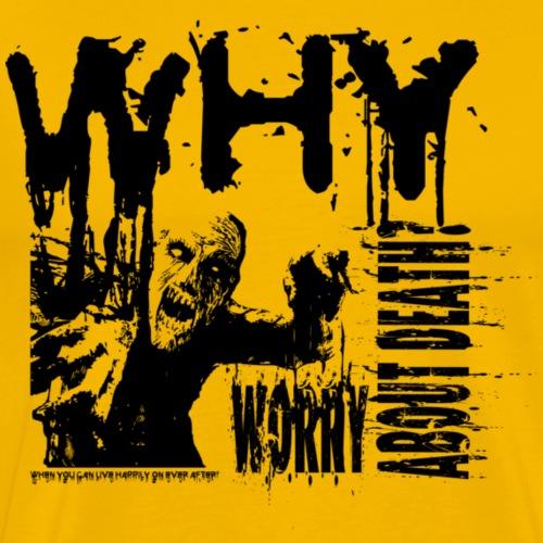 Zombie - Herre premium T-shirt