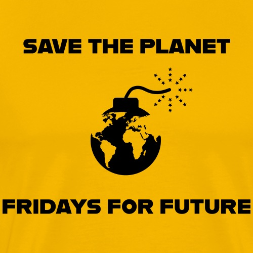 Save the Planet-Fridays for Future - Männer Premium T-Shirt
