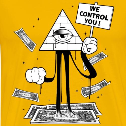 We Control You - Conspiration Design