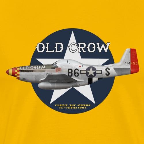 P-51 Old Crow - Men's Premium T-Shirt