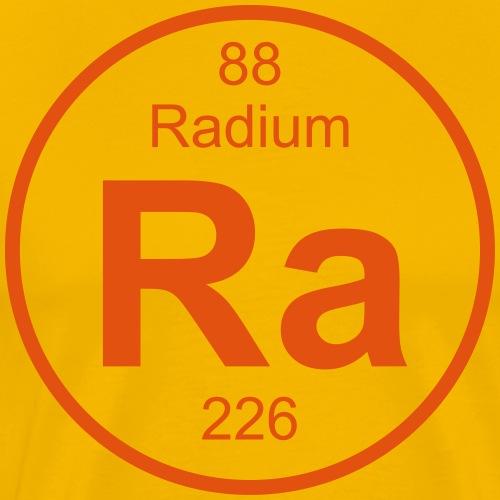 Radium (Ra) (element 88) - Men's Premium T-Shirt