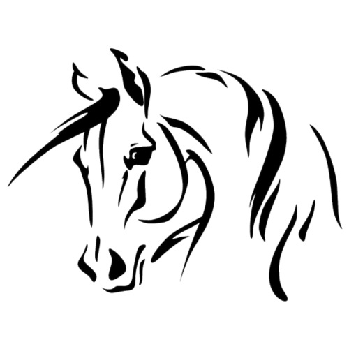 Horse - Männer Premium T-Shirt