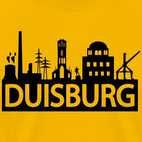 Duisburger Skyline - Männer Premium T-Shirt