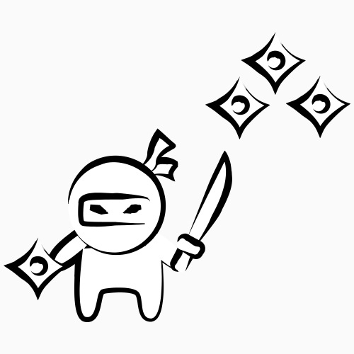 Petit ninja - T-shirt Premium Homme