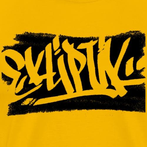 EKLIPTIK collection TAG / NOIR - T-shirt Premium Homme