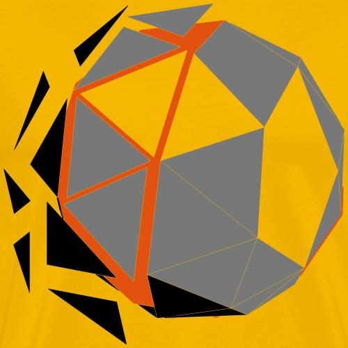 Polygone Ball - Männer Premium T-Shirt
