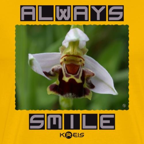 Always Smile _ byTed - Maglietta Premium da uomo