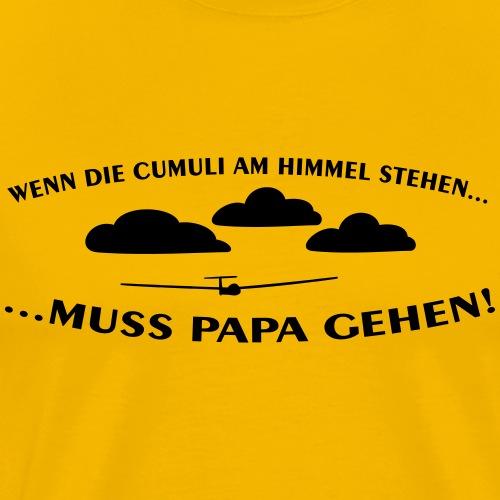 cumulus segelflieger papa baby geschenk