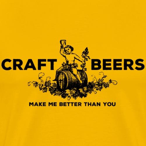 Craft Beers - Men's Premium T-Shirt