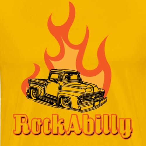 f100_rockabilly - Herre premium T-shirt