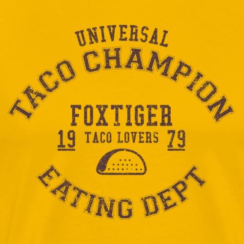 TACO CHAMPION - Men's Premium T-Shirt