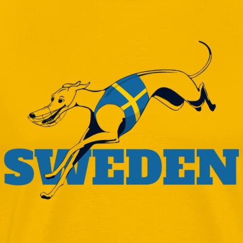LC SWEDEN BLUE - Premium-T-shirt herr